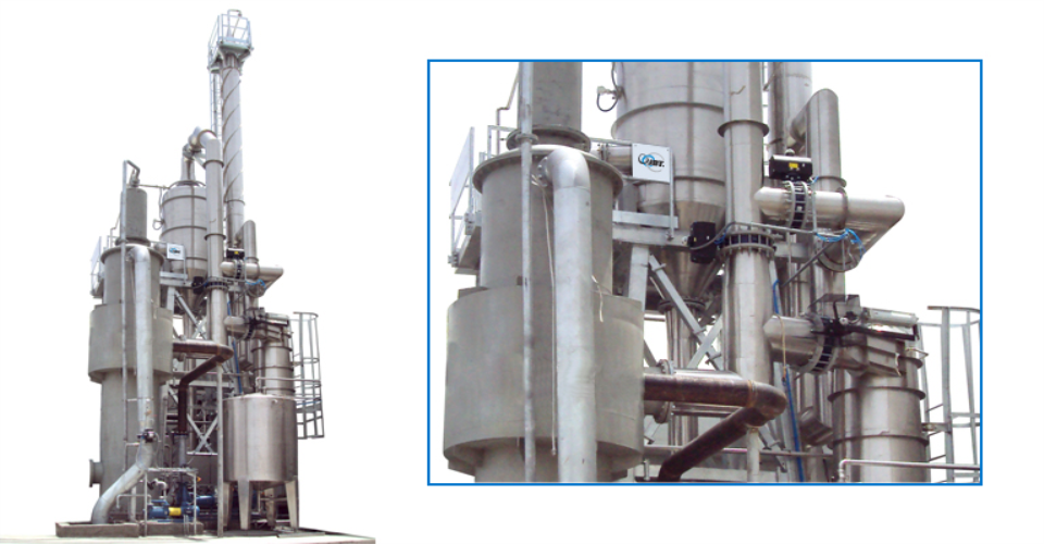 installation Evaporators & Concentrators with JBT Co.
