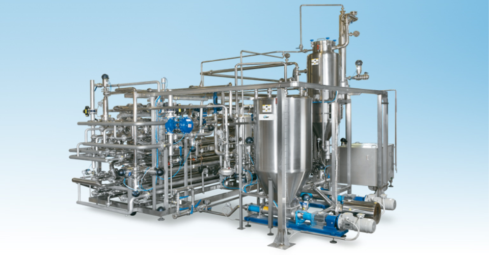 Installing orange juice pasteurization devices with JBT company